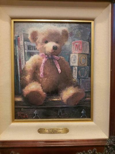 Картина американского художника Томаса Кинкейда Верный друг