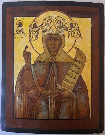 Икона Святая Параскева Пятница XIX век