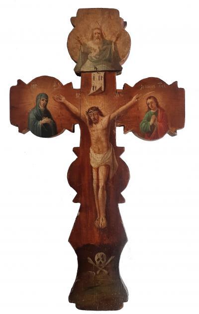 Семидревный крест XVIII век