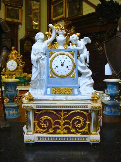 Часы с музыкальным механизмом, 1780 г.