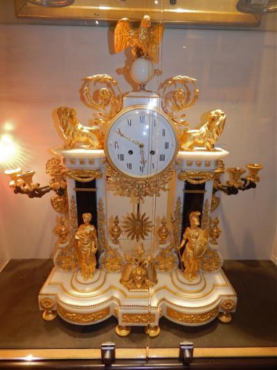 Большие часы-портики, нач. 19 век.