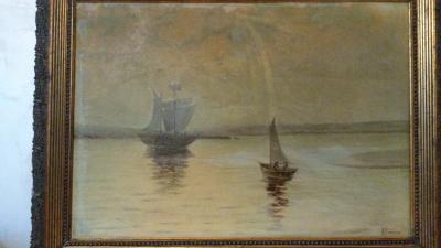 Антикварная картина Седовъ А.