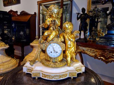 Старинные часы ок.1850 г.