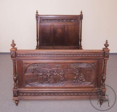 Кровать, неоренессанс (2)