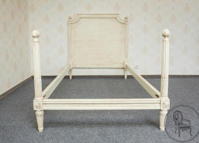 Односпальная кровать в стиле Прованс