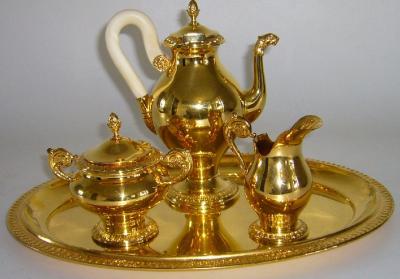 Кофейный набор в стиле Ампир.
