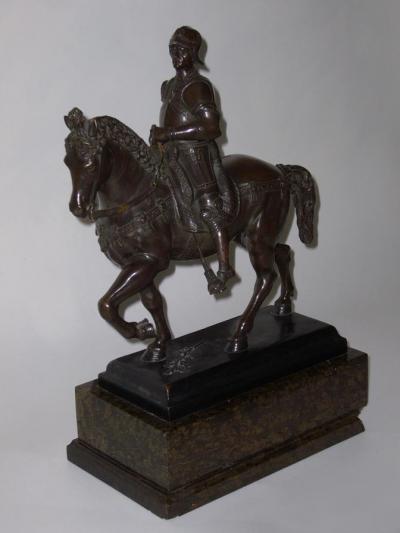Статуэтка-копия памятника Кондотьеру Коллеони